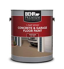 Peinture Pour Béton Et Planchers De Garage 1 Partie époxy Peinture