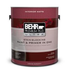 Mat premium plus ultra md peinture et appr t peinture behr for Peinture behr exterieur