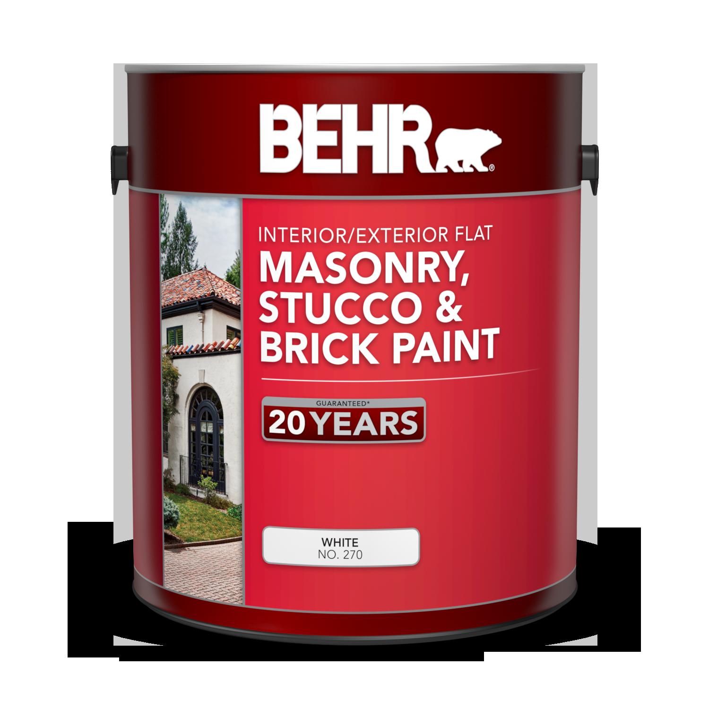 Peinture Pour Brique Extérieur peinture mate intérieure/extérieure pour maçonnerie, stuc et